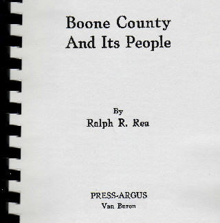 Boone County and Its People Book